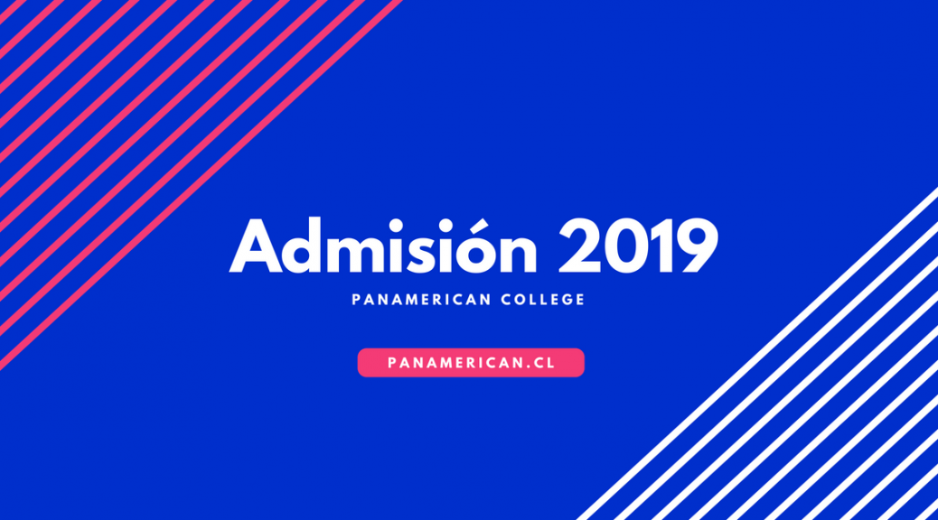 proceso de admisión 2019