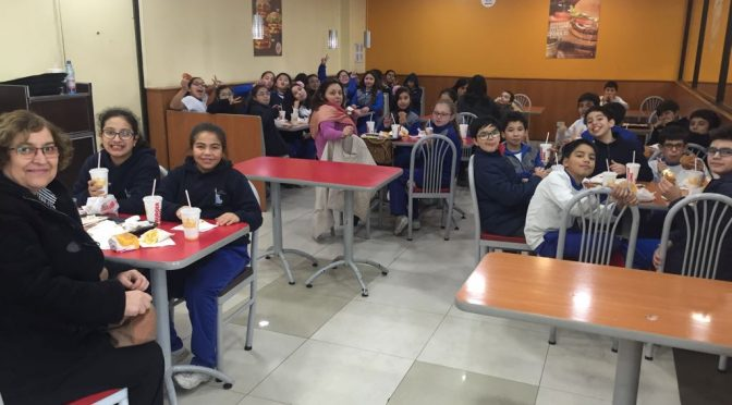 ALMUERZO EN BURGER KING POR SIMCE!