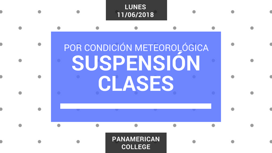SUSPENSION CLASES