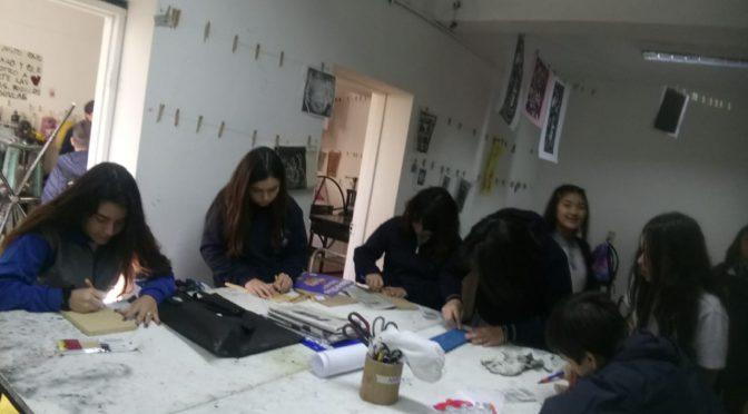 TALLER XILOGRAFÍA  – FACULTAD DE ARTE UMCE