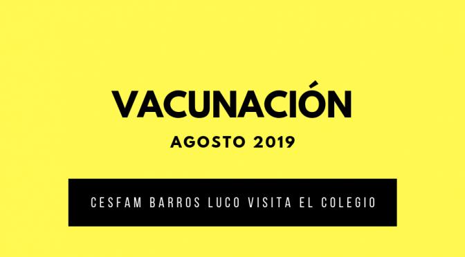Informativo Vacunación
